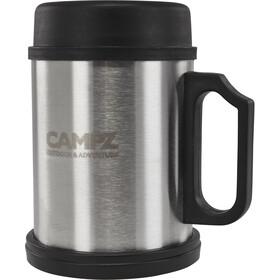 CAMPZ Thermos acciaio 400ml, argento/nero